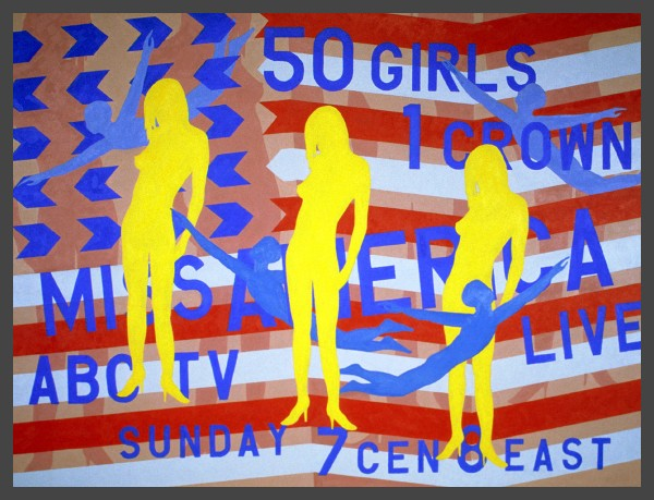 Miss America Pageant Flag #1